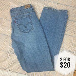 2/$20 Levi's 515 Boot Cut Jeans